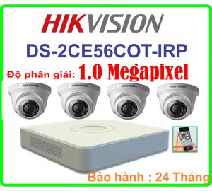 TRON BỘ CAMERA HIKVISION DS-2CE56COT IRP
